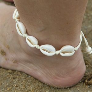 cowrie ankle chain, ankle chain South Africa