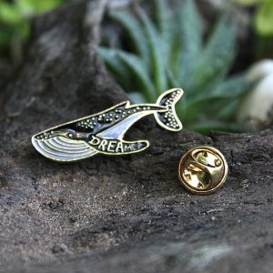 whale pin badge, pin badge South Africa