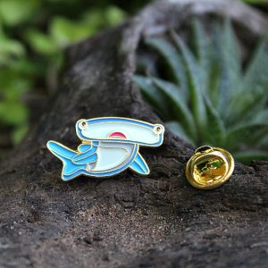 hammerhead shark, pins, brooches