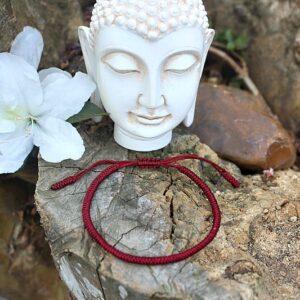 Tibetan lucky knot bangle, Buddha mantra bangle South Africa