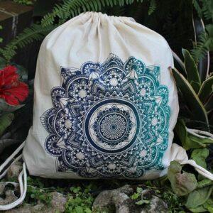 drawstring bag, yoga bag, mandala bag South Africa