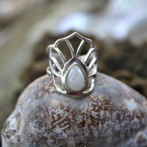lotus flower ring, boho ring South Africa
