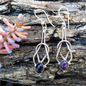 amethyst earrings, boho earrings South Africa