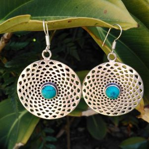 turquoise earrings, boho earrings South Africa