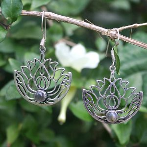 gypsy earrings, lotus flower earrings, earrings online South Africa