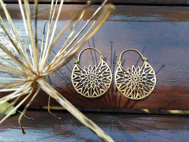 mandala earrings, bohemian jewellery South Africa