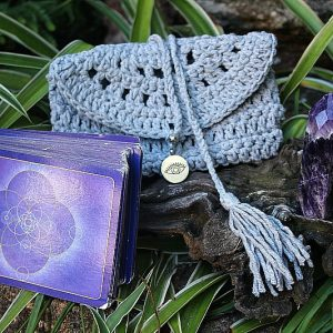 tarot card bag South Africa, crochet bag