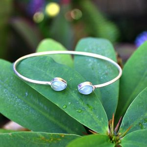 Amazonite stone bangle, gemstone bangle, amazonite bracelet