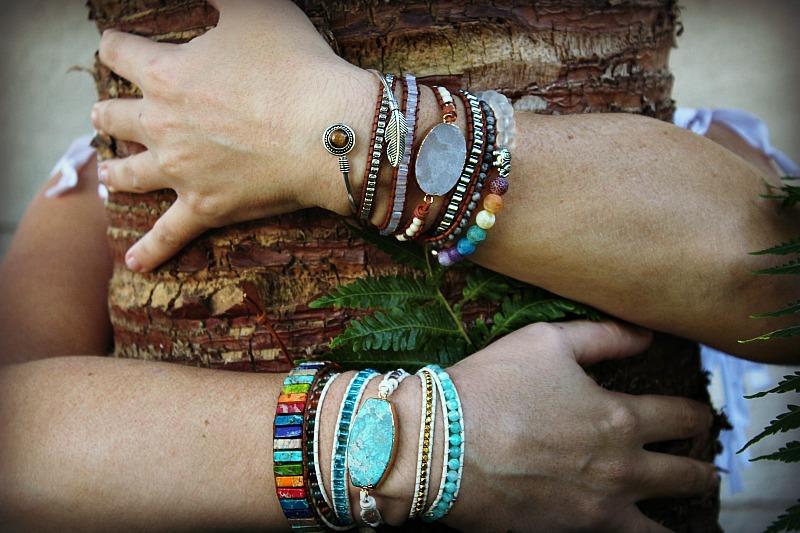 bohemian bangles, wrap bangles, bangles South Africa