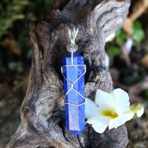 spiritual development crystal, Lapis Lazuli crystal pendant South Africa