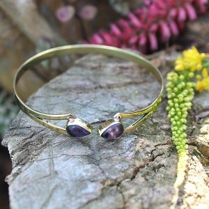Amethyst bangles South Africa, gypsy jewelry South Africa