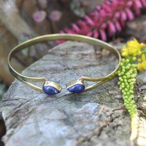 Lapis lazuli bangle, bohemian bangles for sale South Africa