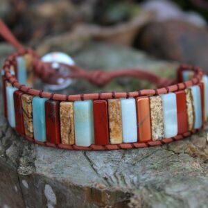 bohemian wrap bangle, hippie bracelets South Africa