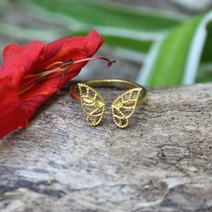 Butterfly ring, Bohemian rings South Africa, unique gifts South Africa