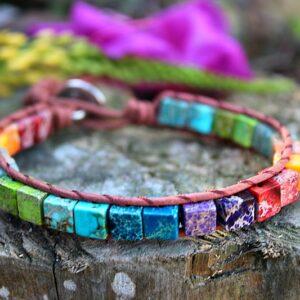 Chakra bangle South Africa, Chakra bracelet for sale South Africa