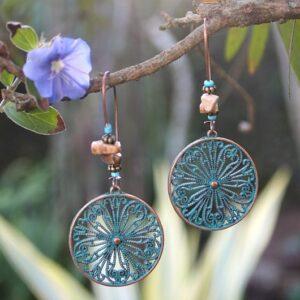 Flower Bohemian earrings, Bohemian Earrings for Sale South Africa