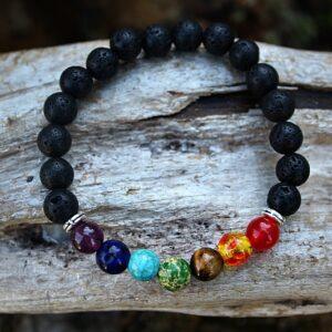 Chakra bangle, chakra bracelet South Africa