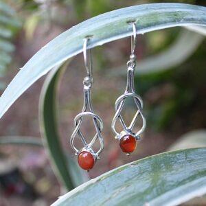 bohemian earrings, gemstone earrings South Africa