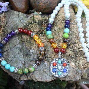Chakra necklace, chakra bracelet South Africa