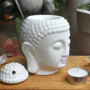 Essential oil Buddha head burner, Aromatherapy oil burners