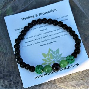 Healing and protection bangle, protection bangles South Africa