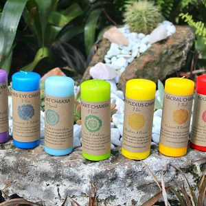 Chakra candle set South Africa, Chakra and candles South Africa