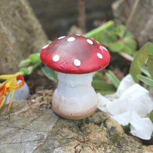 garden decor South Africa, garden toadstools, garden mushroom decor