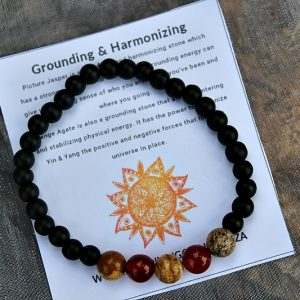 gemstone bangle, grounding bangles South Africa
