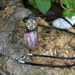 Root chakra necklace, root chakra jewellery