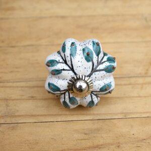 Ceramic door knobs, Flower ceramic door knobs