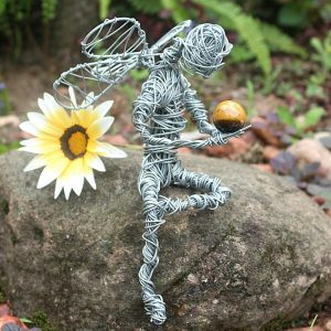 Stone of protection, wire fairy South Africa