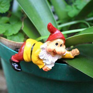 garden gnomes, pot plant gnomes