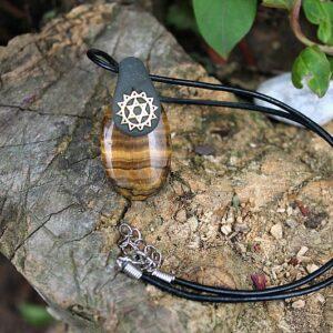 Heart chakra necklace, heart chakra