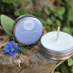 Serenity Soy lite candle, aromatherapy candles South Africa