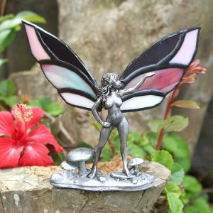 stained glass fairy, stained glass mushroom fairy South Africa