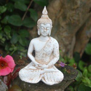 Buddha statue, Lotus position meditation buddha statue