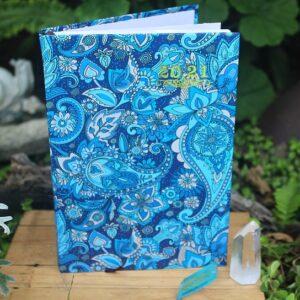 Paisley pattern diary, 2021 diarys South Afirca