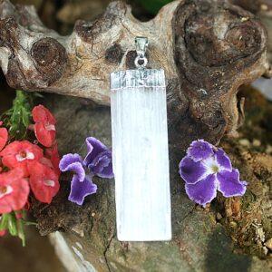 selenite pendant, crystal pendants South Africa