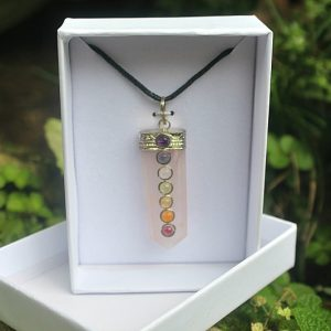 Rose quartz crystal pendant, crystal pendants South Africa