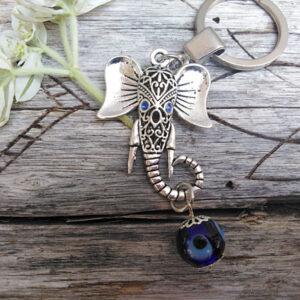 elephant key ring, Key rings
