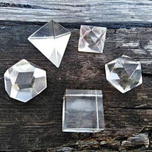 Plutonic crystals, Clear quartz plutonic crystals