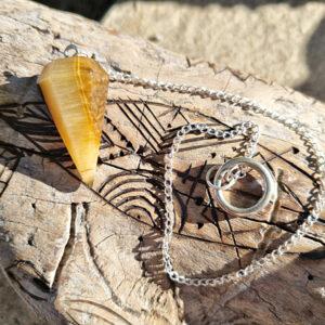 Pendulums, Tigers Eye pendulum