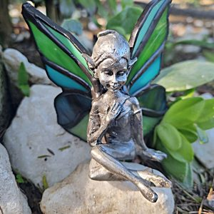 Stained glass pixie, pixies