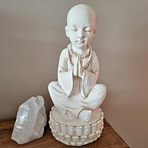 Monk statue, Buddhist statue