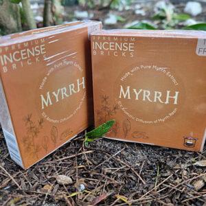 Incense bricks, Myrrh incense