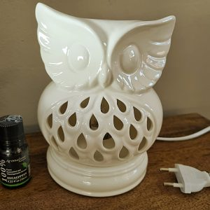 ceramic oil burner, Owl ceramic oil burner